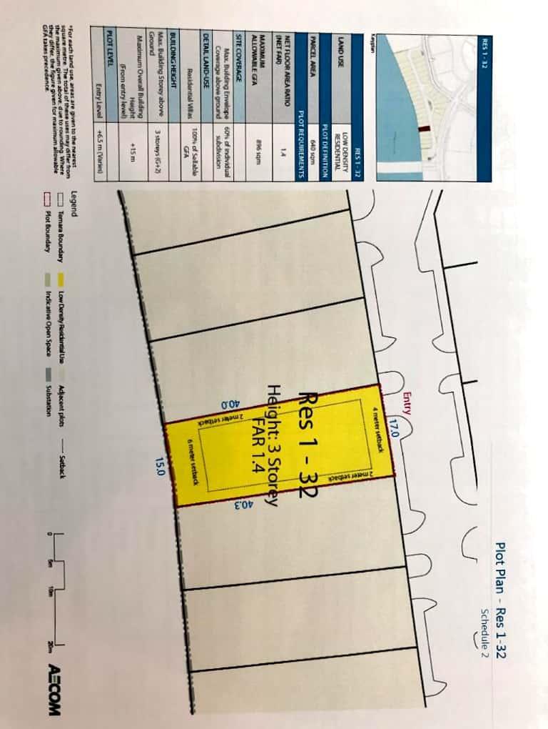 Residencial land in Delmunia open sea prime location . Ref: DEL-AB-003
