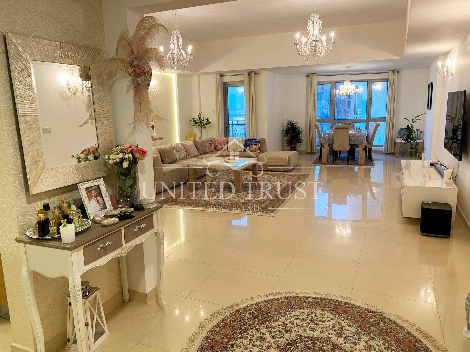 For Sale big Luxury Flat in Amwaj Ref: AMW-MB-029