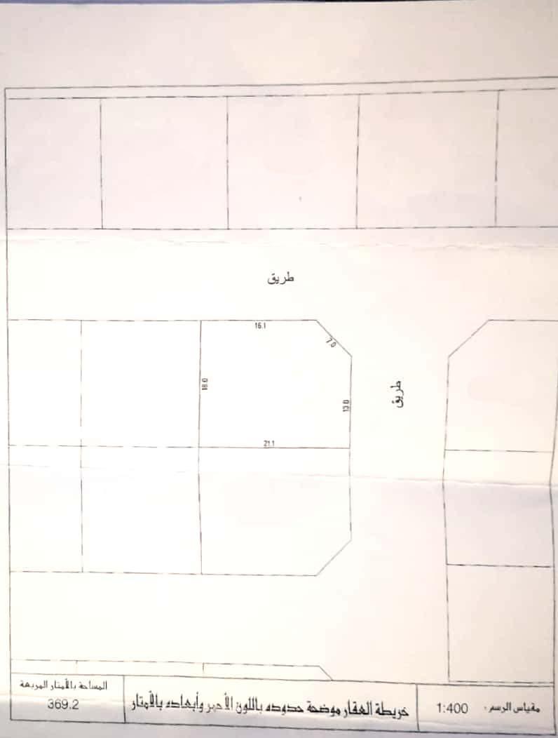 Residencial land in shahrakan.prime location .corner Ref: SHR-AB-001
