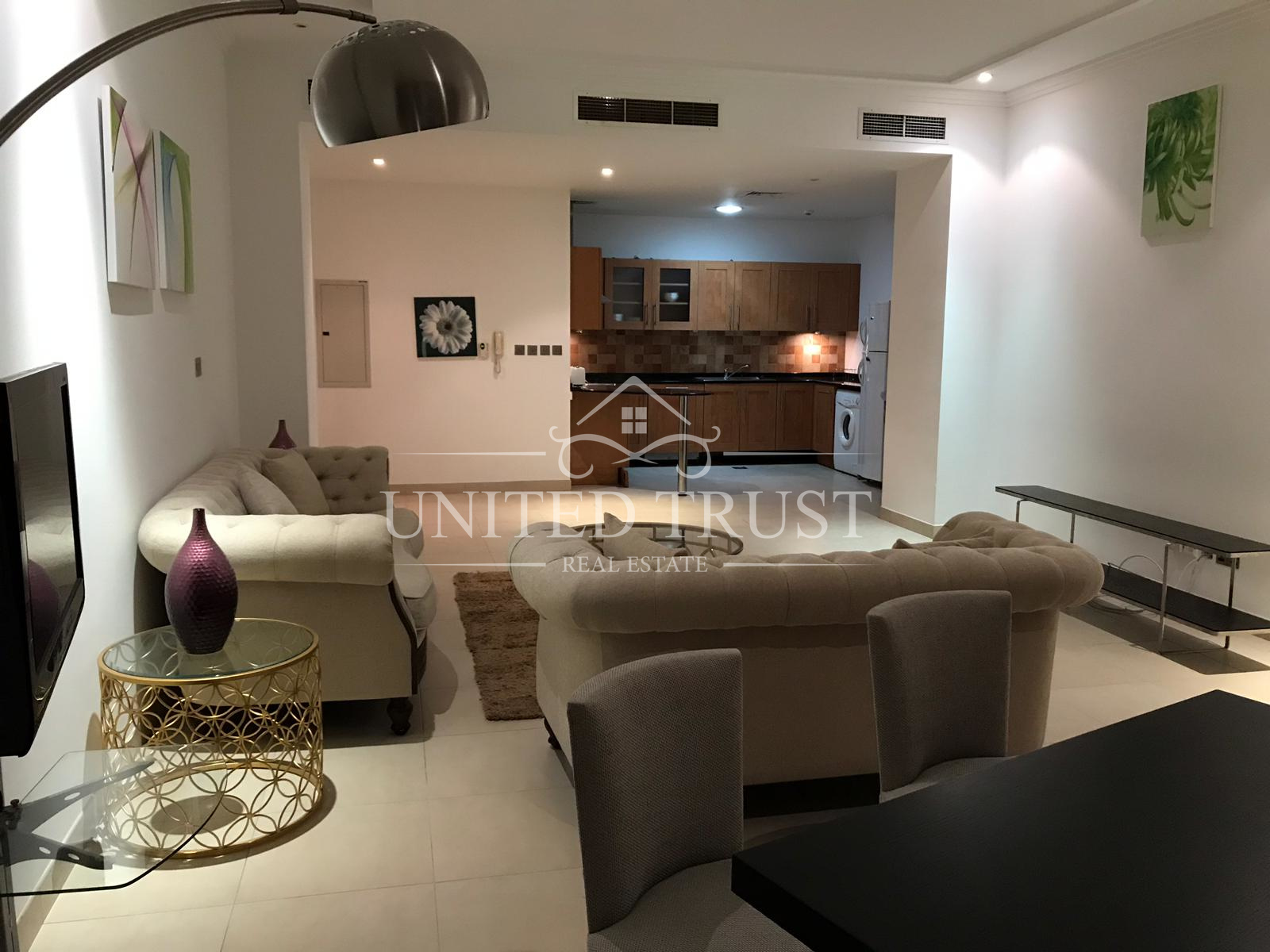 For rent a fully furnished 2 bedroom flat in Seef Ref: SEE-AZ-005