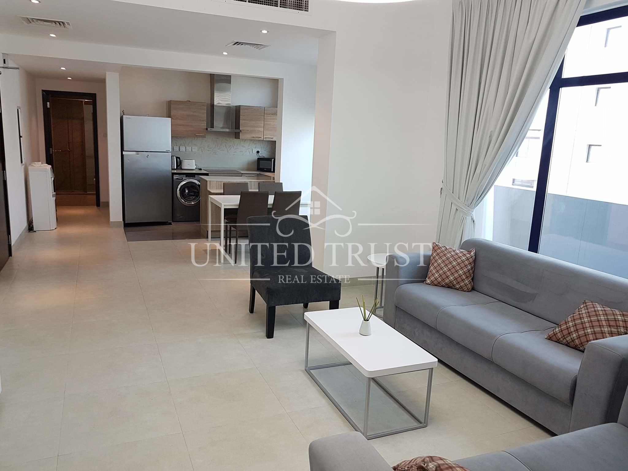 Fully furnished new apartment at Nasmah Star, Juffair near Al Jazira supermarket Ref: JUF-MB-011