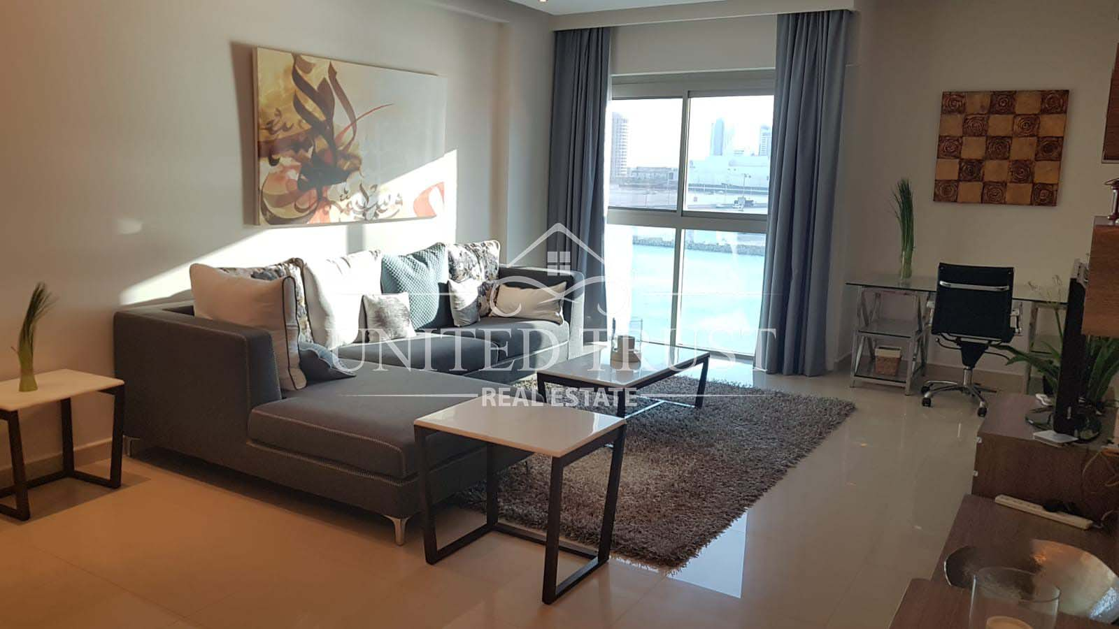 For rent a flat in porta reef seef.prime location modern.fully furnished sea view. Ref: SEE-AB-010