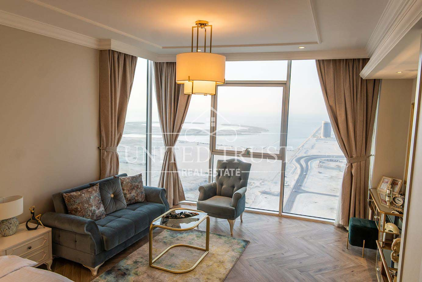 For rent new studio seef.prime location modern.fully furnished sea view. Ref: SEE-AB-009
