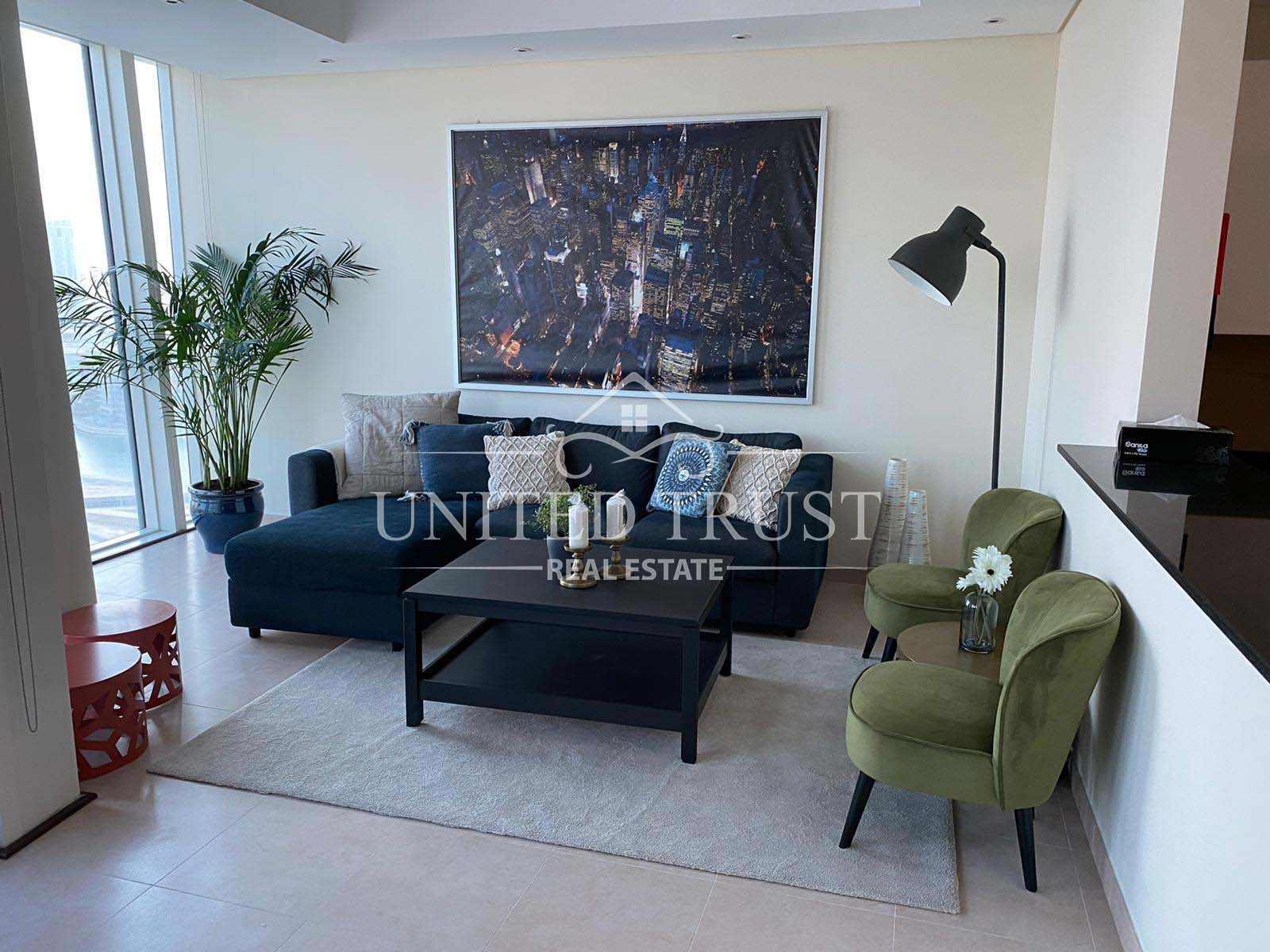 For Rent Brand New Luxury Apartment in Financial Harbour Ref: BBA-SB-012
