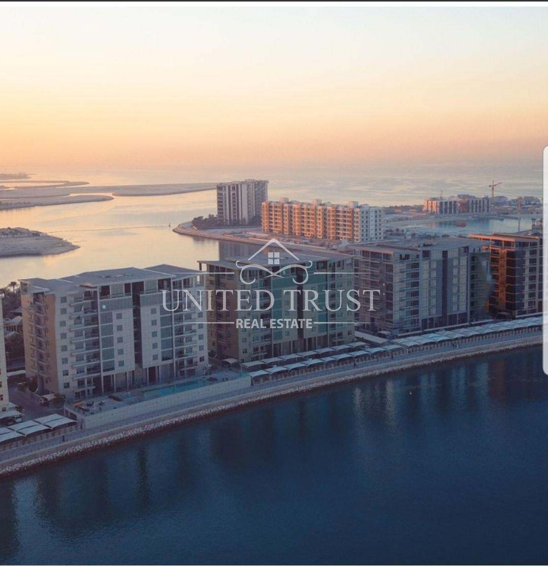 for sale apartment in reef island seef.prime location modern.fully furnished sea view. Ref: SEE-AB-011