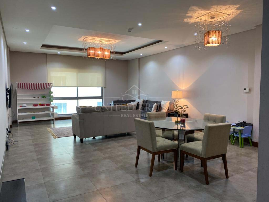 For rent a furnished flat in Amwaj Ref: AMW-MB-035