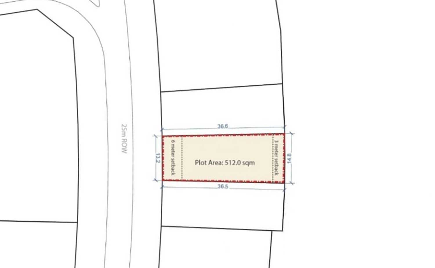 For sale residential land in Dilmunia. Ref: DIL-MH-001