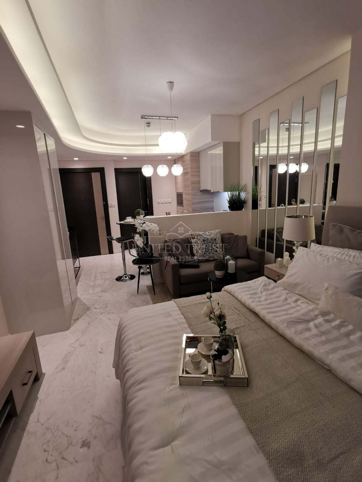 For Rent Luxury Studio Apartment in Bahrain Bay Ref: BBA-SB-018